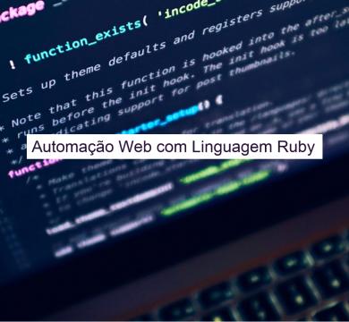Automação Web (Ruby)