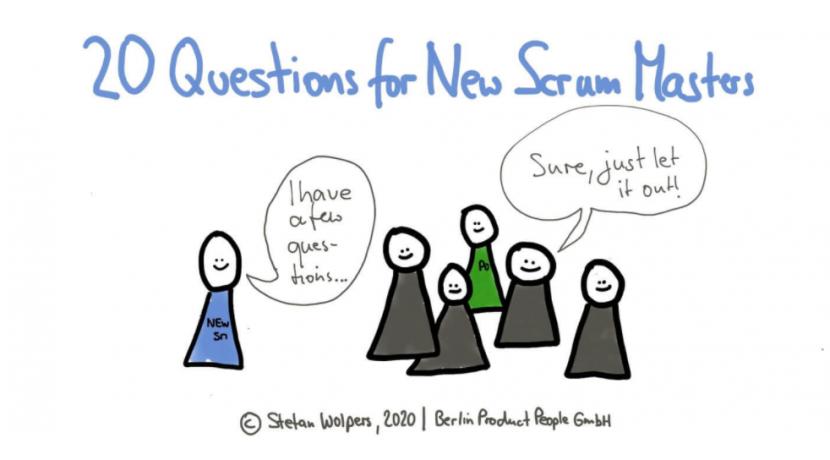 20 Perguntas Que Um Novo Scrum Master Deve Fazer.